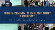 Keighley Community Led Local Development – Bidders Event